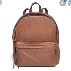 NWT Madewell Brown Lorimer Leather Large Backpack